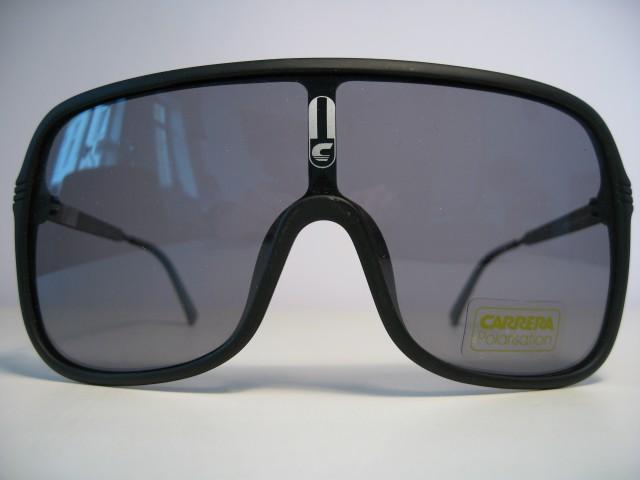 e5d9414716a75e Carrera 5556 1980s Vintage Sunglasses black mask rare