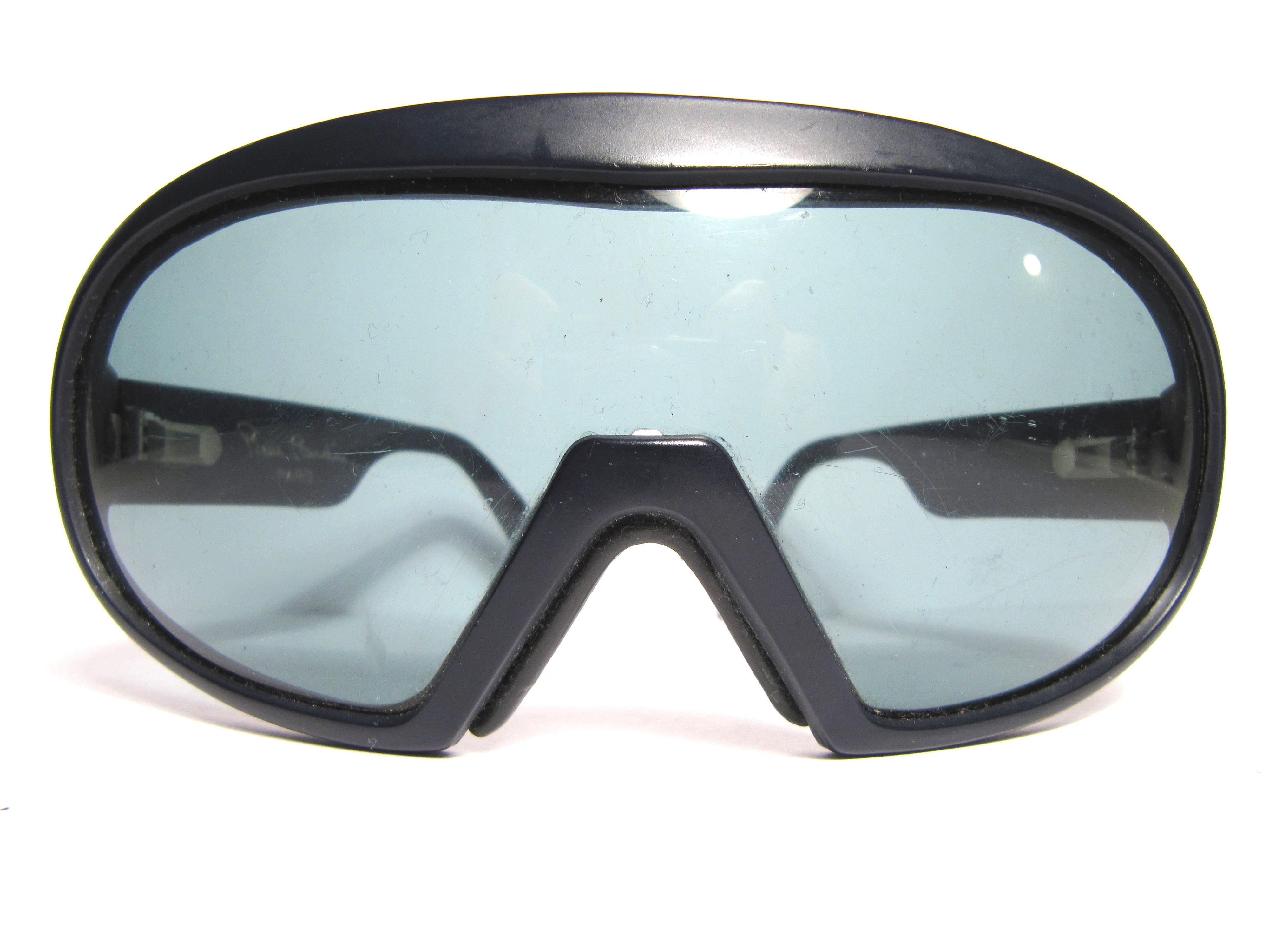Pierre Cardin Paris HCS, 1980s Vintage Mask Sunglasses ...