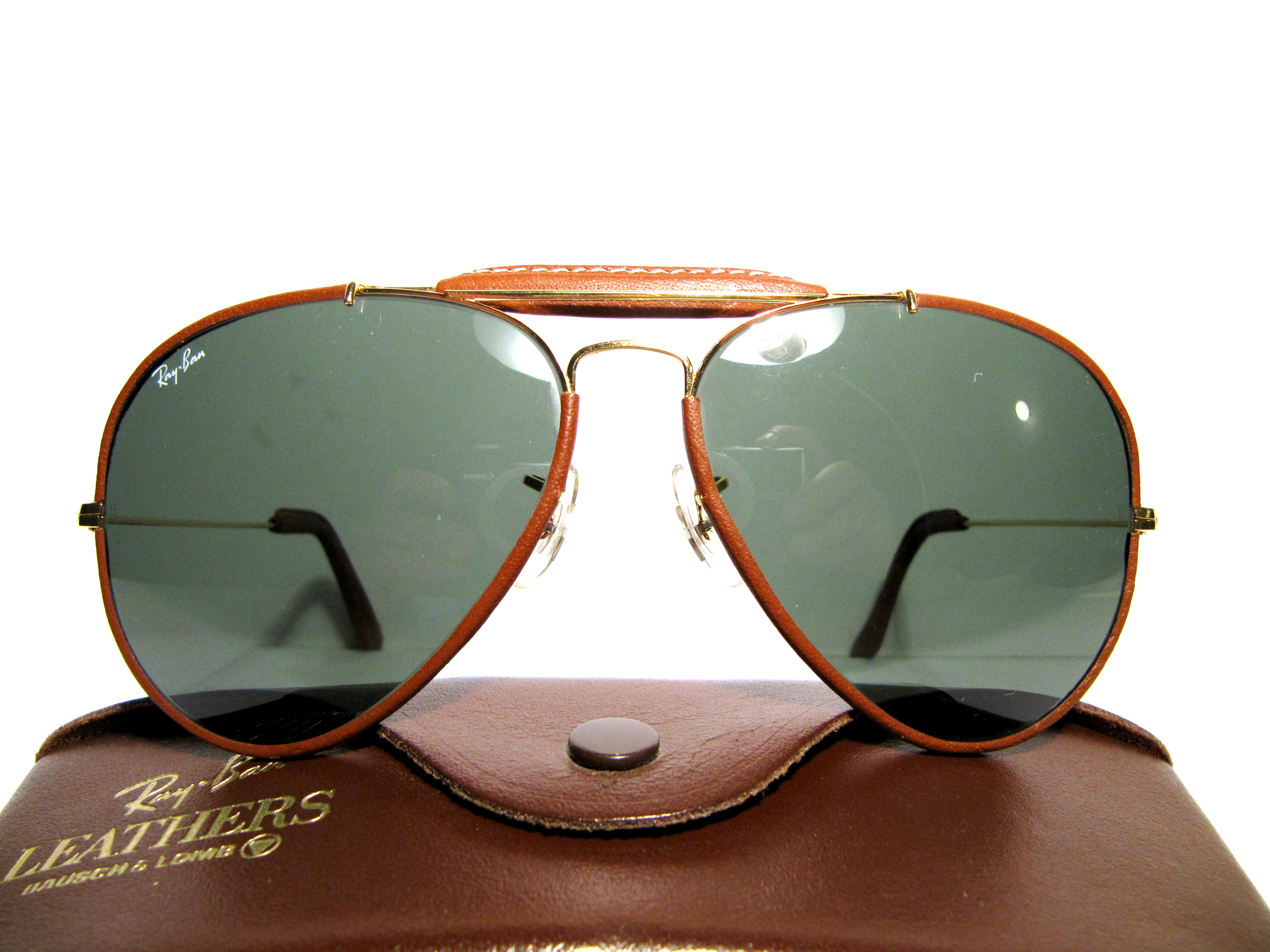 ray ban outdoorsman 2 leather