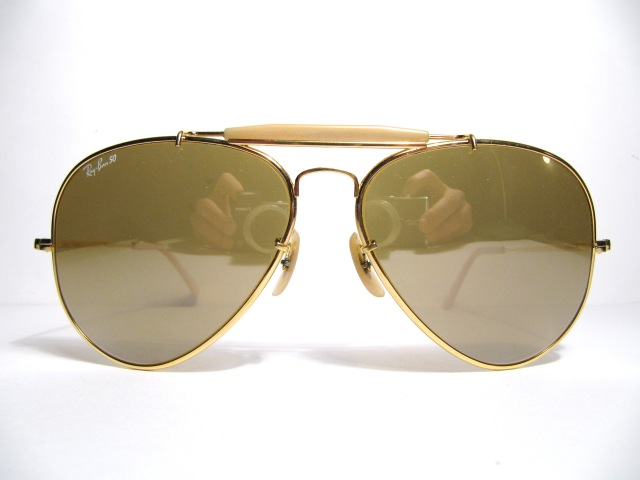 "e82b4104078 RAY BAN ""The General 50"" gold"