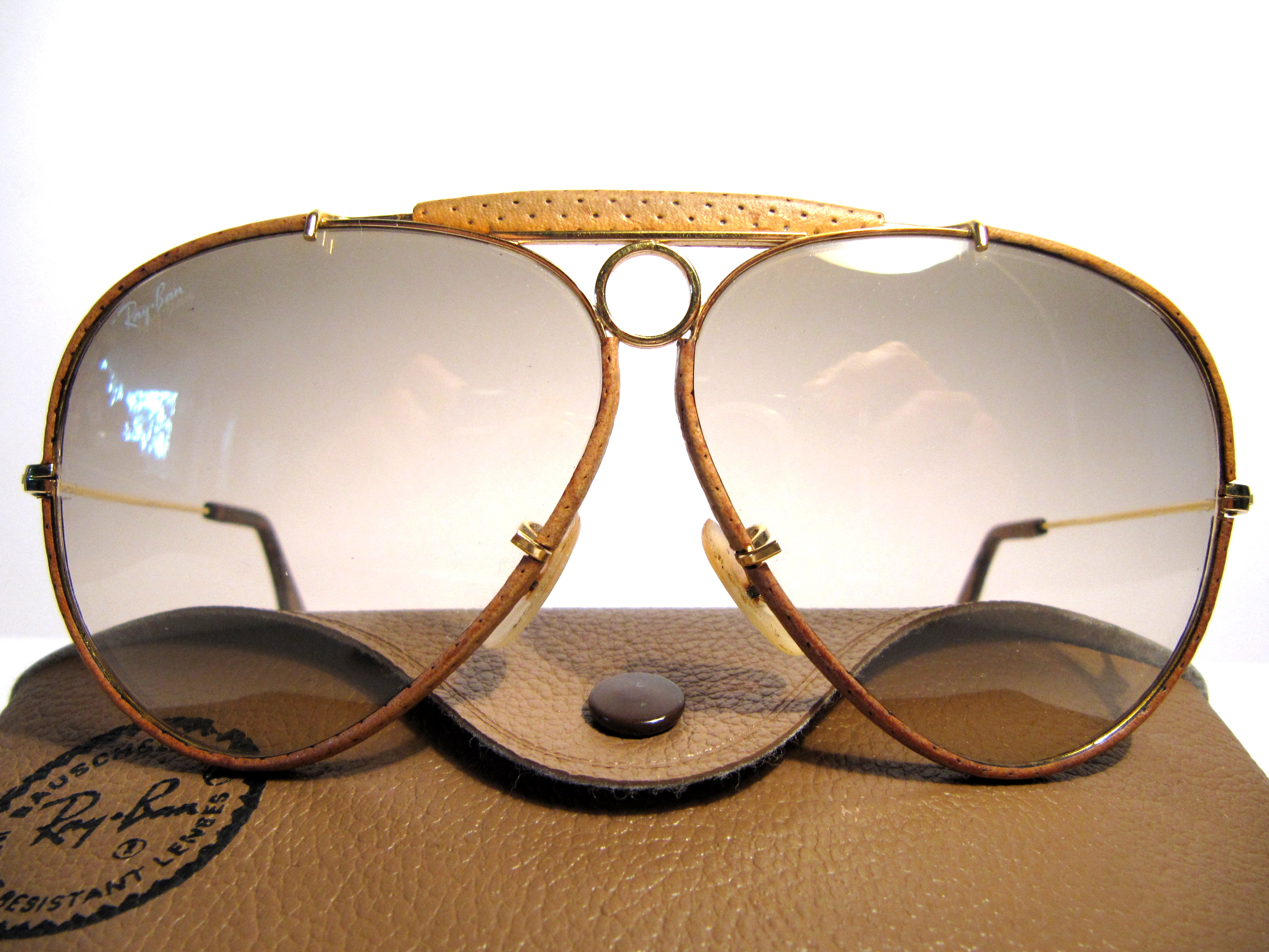 Ray Ban Shooter Leathers 62mm