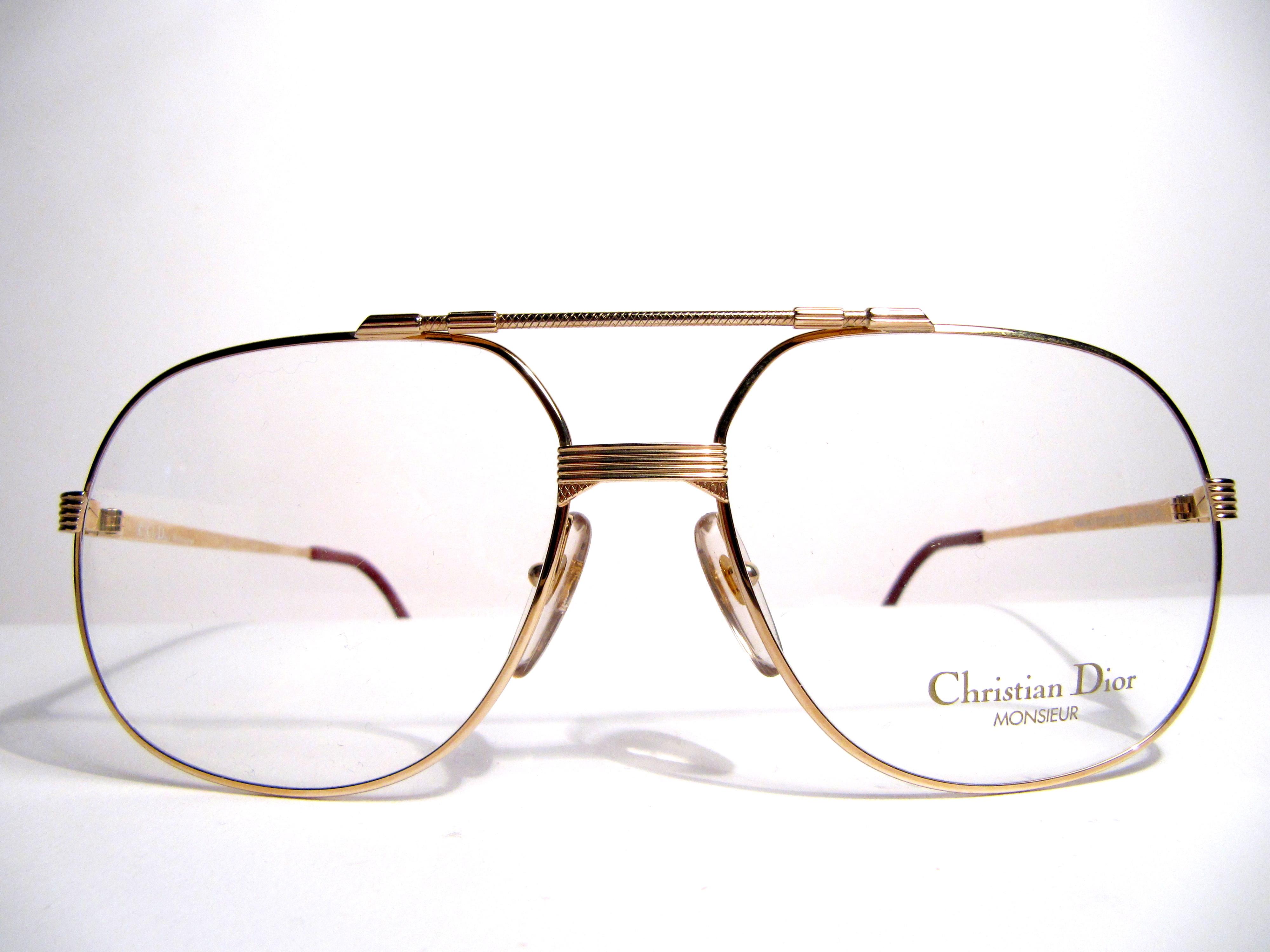 Vintage Eyeglass Frames Maine : Christian Dior 2487 monsieur