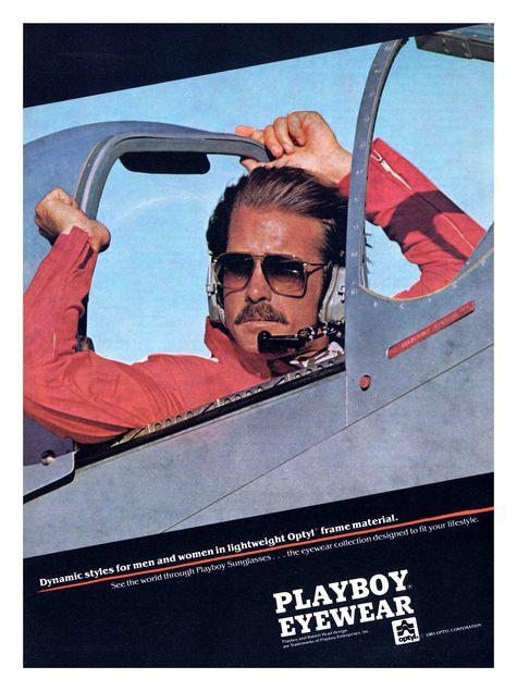 playboy sunglasses ad