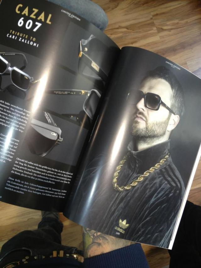 cazal 607 eyewear magazine