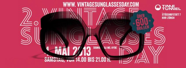 vintage sunglasses day 2013
