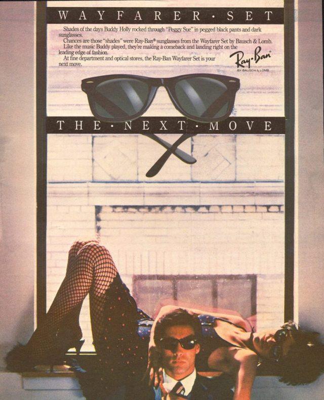 wayfarer vintage ad