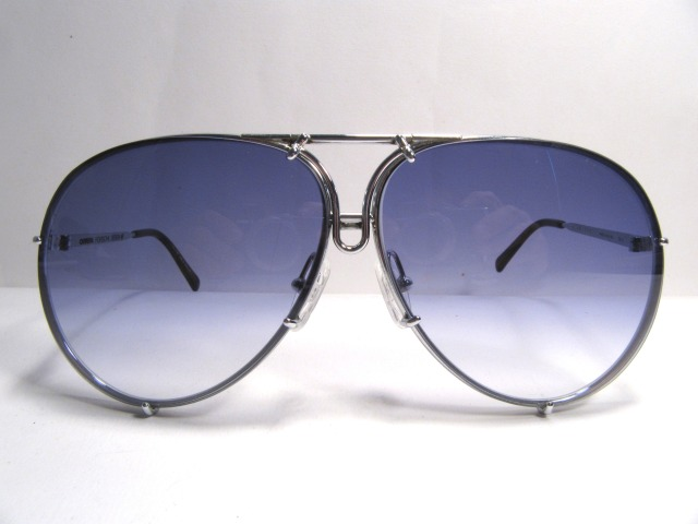 Porsche Design by Carrea 5623 silver vintage sunglasses austria 1980s