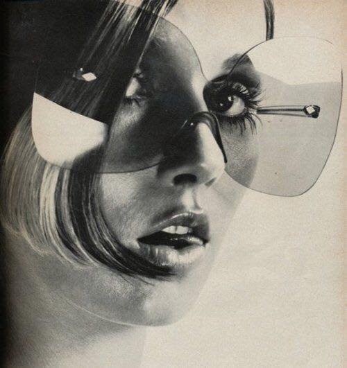 butterfly 1970s vintage sunglasses advertisement