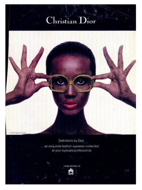 christian dior vintage sunglasses advertisement ad