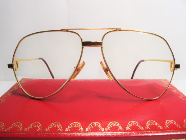 Cartier Vendome Laque 1980s vintage sunglasses