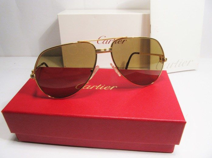 Cartier Vendome vintage sunglasses 1980s Paris