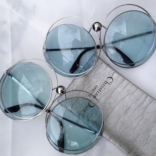 christian dior 70s spacebug vintage sunglasses matti piipponen-helsinki