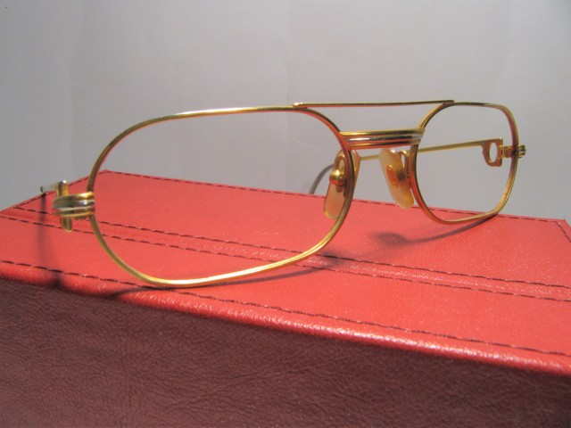 CARTIER MUST LOUIS CARTIER ELTON JOHN vintage GLASSES