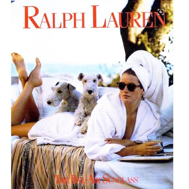 Ralph Lauren vintage sunglasses advertisement