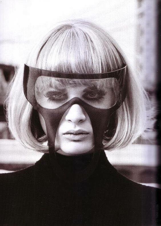 pierre cardin mask mask art eyewear vintage