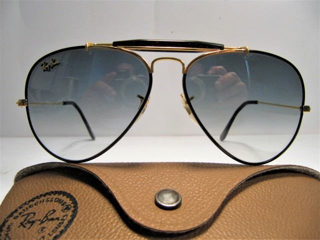 RAY BAN B&L Outdoorsman black precious 58mm