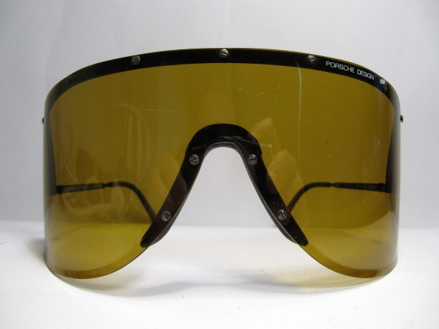 Porsche Design by Carrera 5620 yellow Yoko Ono vintage sunglasses