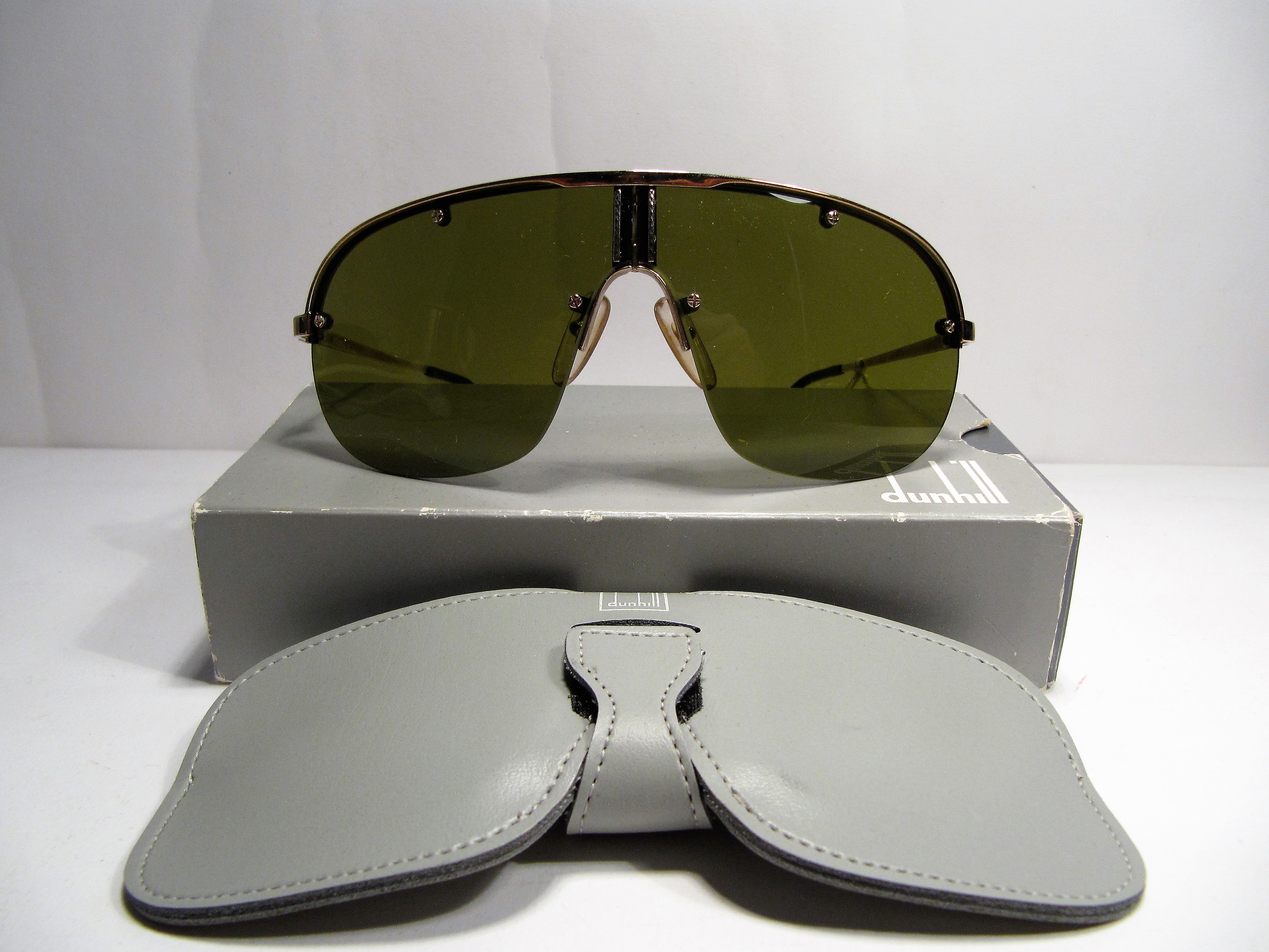 Dunhill 6102 1980s vintage sunglasses made in Germany