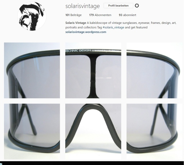 Solaris instagram vintage sunglasses eyewear design 1960s 70s 80s 90s