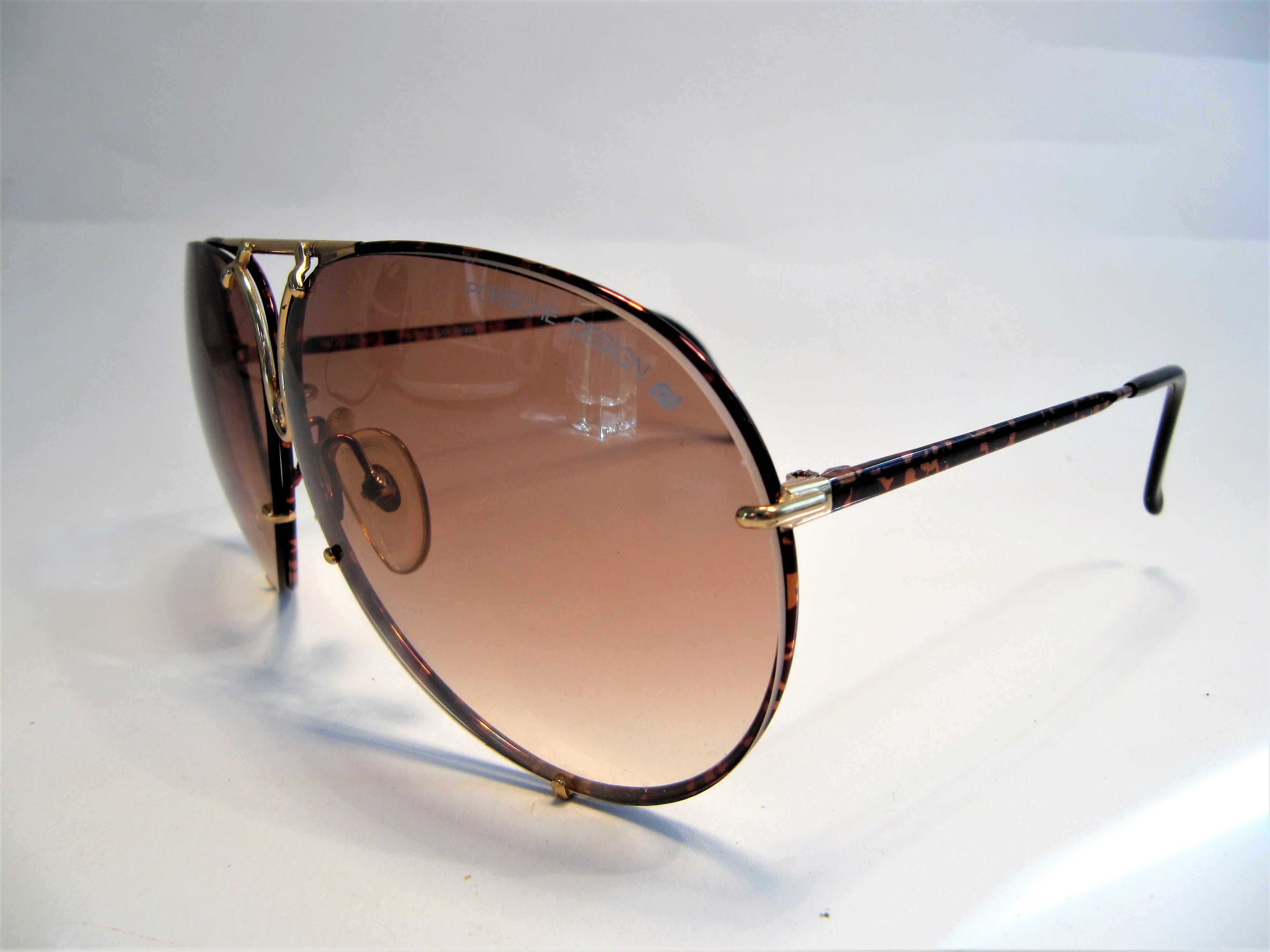 Porsche Design by Carrera 5623 tortoise shell 1980s vintage sunglasses made in Austria
