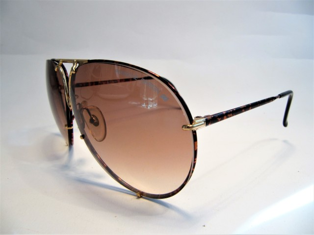 Porsche Design by Carrera 5623 tortoise shell 1980s vintage sunglasses made in Austria