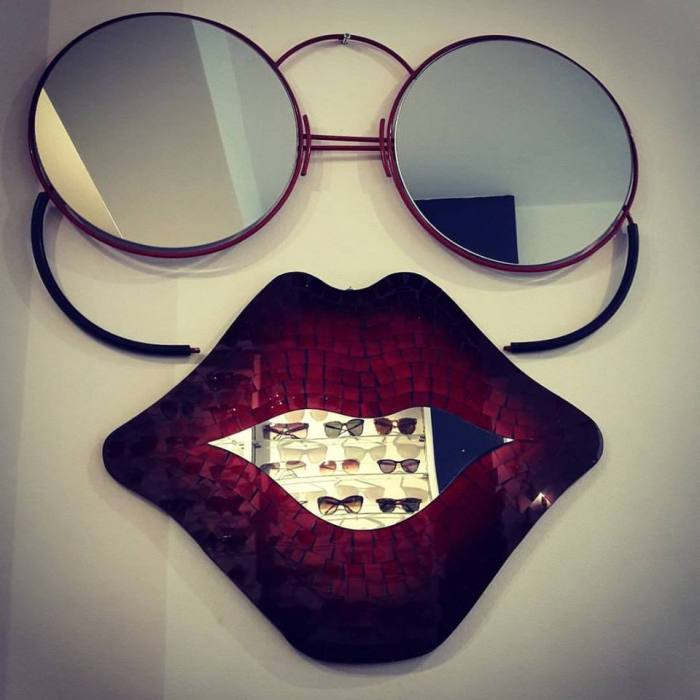 sunglasses bridges & brows london vintage sunglasses london art