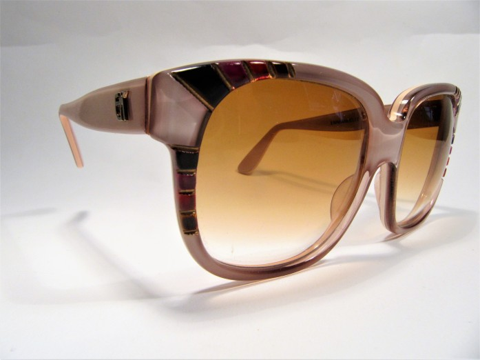 Emmanuelle Khanh Paris 8080 1970s vintage sunglasses made in France
