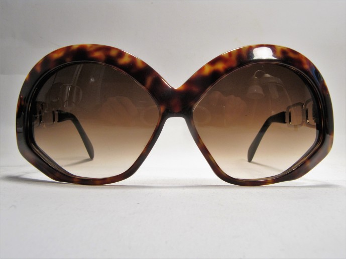 1960s Silhouette havanna vintage sunglasses made in Austria