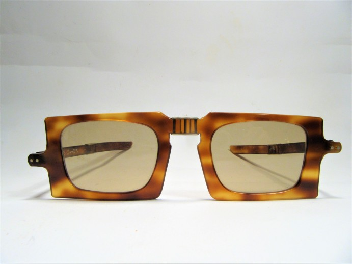 Pierre Cardin folding 1960s vintage sunglasses made in France