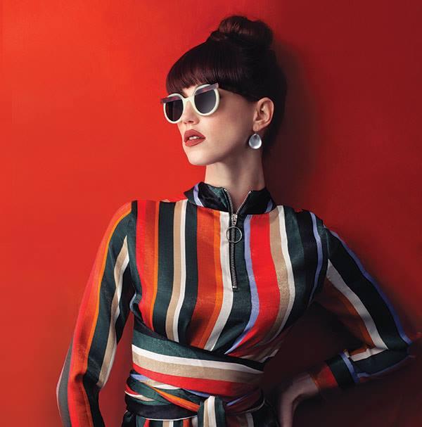 Veronika Wildgruber Berlin Mod. Ford future vintage sunglasses by 20/20 Magazine