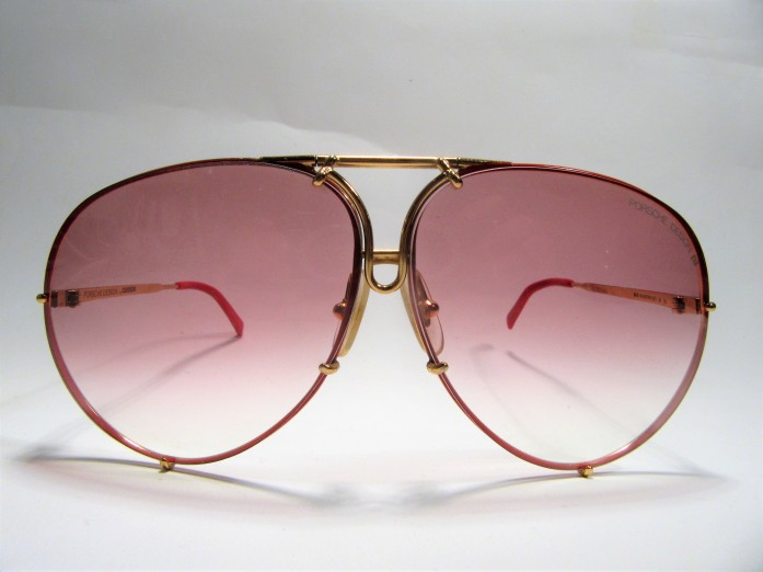 Porsche Design by CARRERA 5621 gold red 1980s vintage sunglasses made in Austria