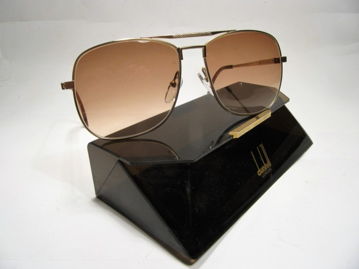 Dunhill London 6038 1980s vintage sunglasses made in Germany