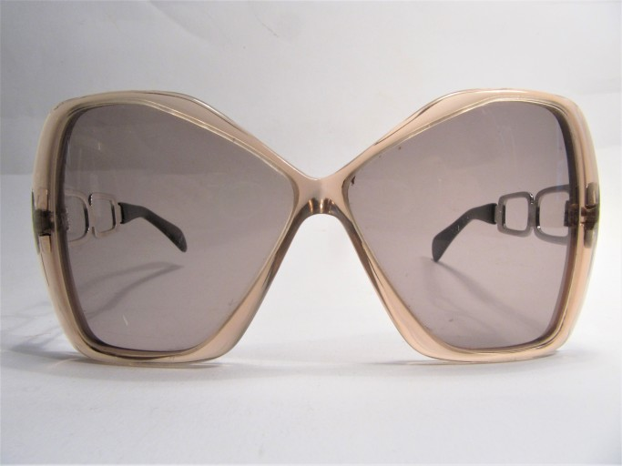 Silhouette early late 1960s vintage sunglasses made in Linz Austria