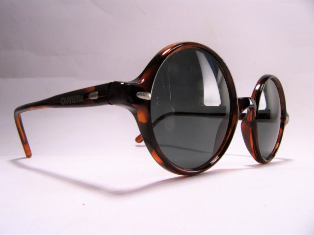 Carrera 5504 Limited 17 1990s havana Panto vintage sunglasses made in France